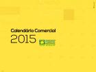 Calendário Comercial 2015