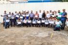 Agentes da Zona Azul recebem certificados