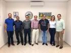 Acib recebe representantes das Lojas Cem para tratar da inauguração de nova unidade em Birigui