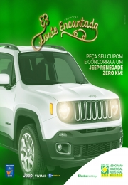 Campanha Sorte Encantada irá sortear um Jeep Renegade 0km