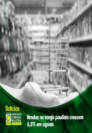 Vendas no varejo paulista crescem 6,5% em agosto e atingem R$ 52,1 bilhões