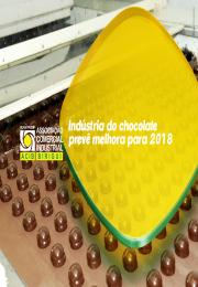 Indústria do chocolate prevê melhora para 2018