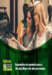 Expectativa do comércio para o Dia das Mães é de alta nas vendas