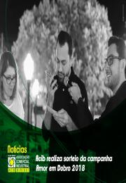 Acib realiza sorteio da campanha Amor em Dobro na Praça Dr. Gama