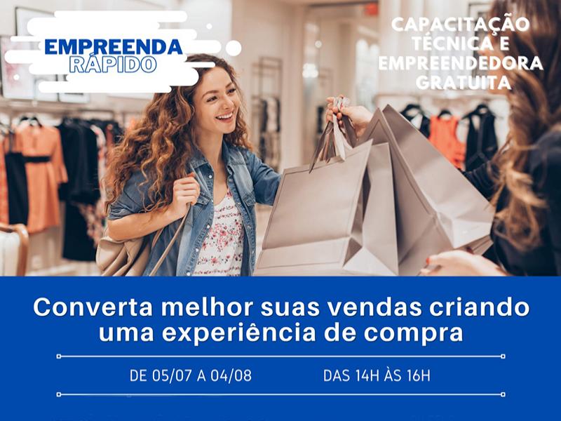 CONVERTA MELHOR SUAS VENDAS CRIANDO UMA EXPERIÊNCIA DE COMPRA